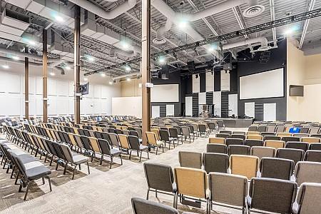 Saddleback Anaheim Church: Power - Electrical Construction